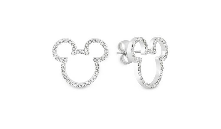 Disney Mickey Mouse Head Stud Earrings