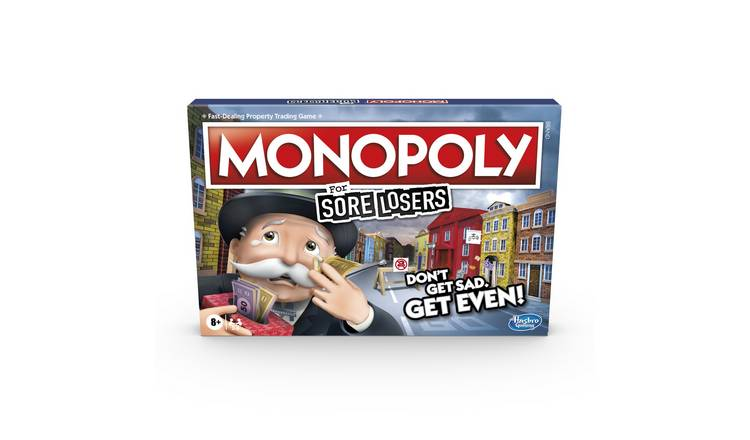 Monopoly For Sore Losers Board Game 0