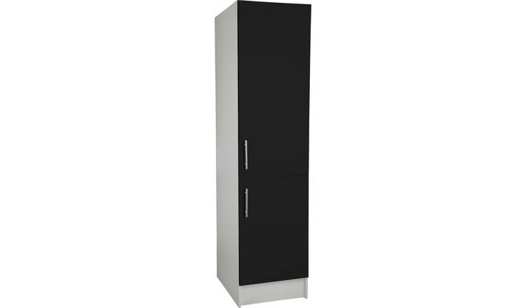 Argos Home Athina 500mm Fitted Kitchen Tall Unit - Black