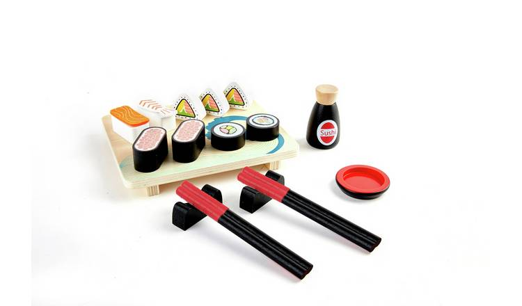 Chad Valley Wooden Toy Sushi Set