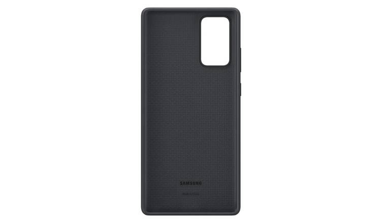 Samsung Note20 Silicone Cover - Mystic Black