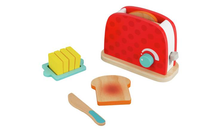 Chad Valley Wooden Toy Toaster