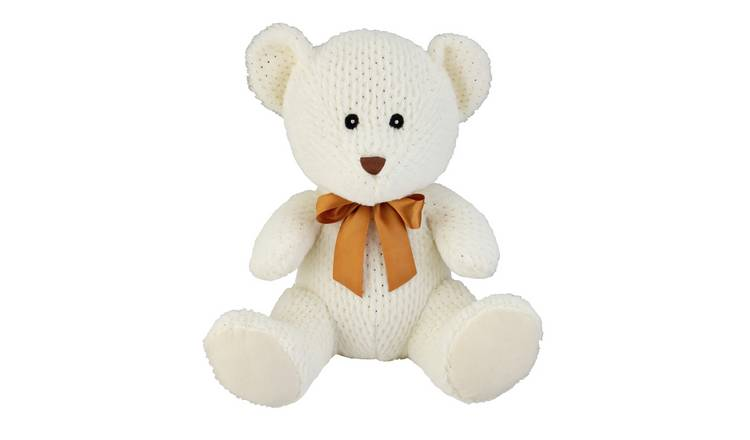 14inch Bear Soft Toy - Cream