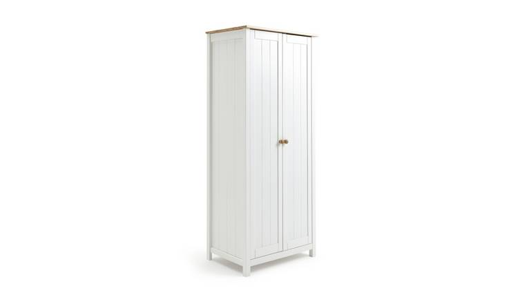 Habitat Scandinavia 2 Door Wardrobe - Two Tone