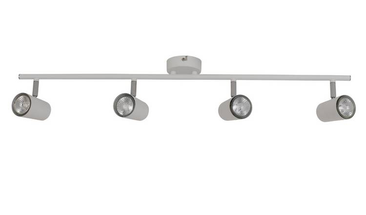 Argos Home Spotlight 4 Light Bar - Matt White