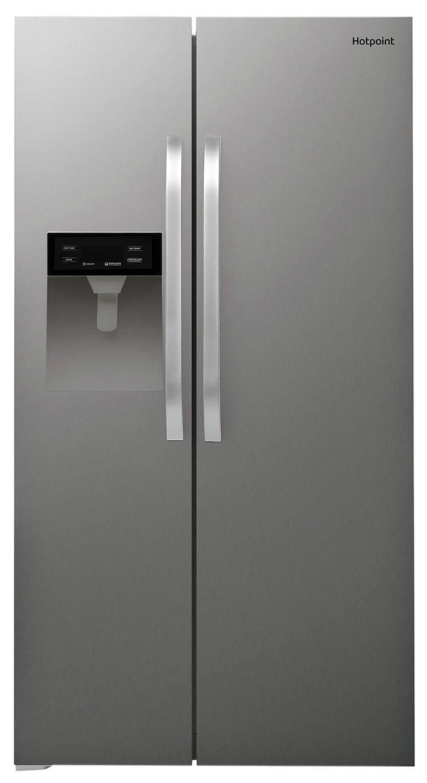 Hotpoint SXBHE924WD American Fridge Freezer - Inox