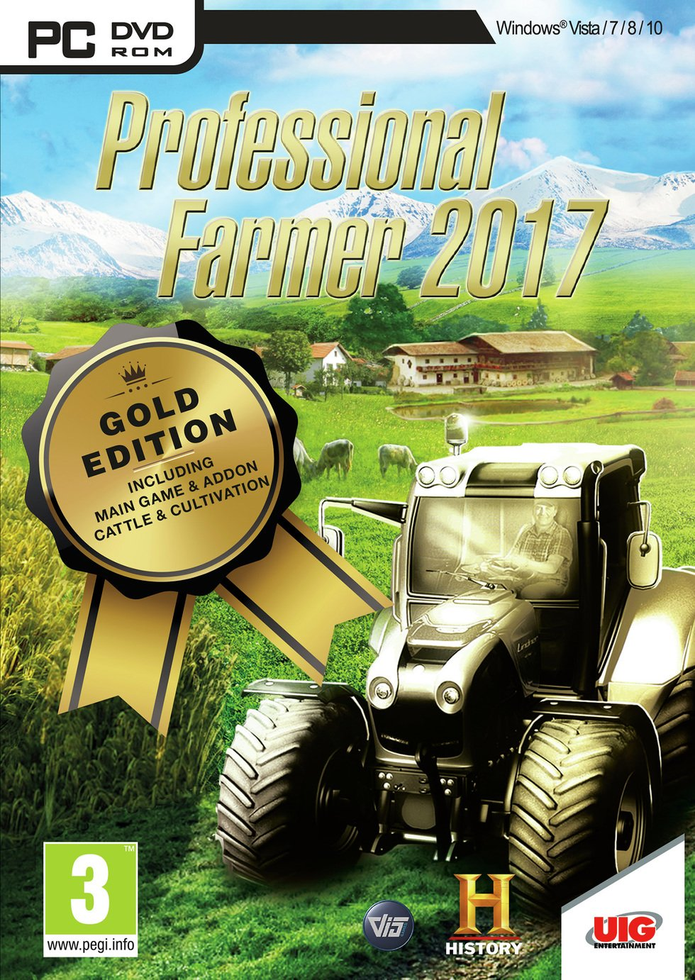 Professional Farmer 2017 Gold PC Game