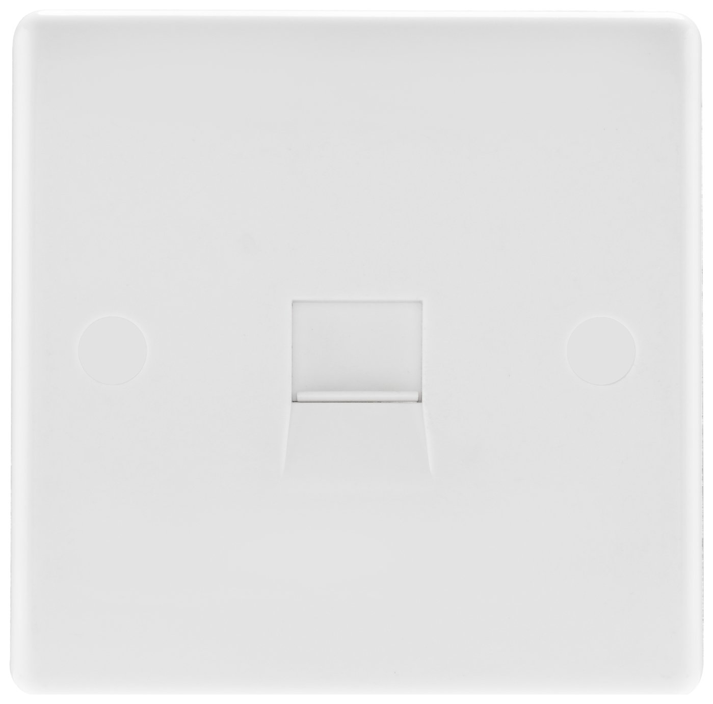BG Telephone Socket - White