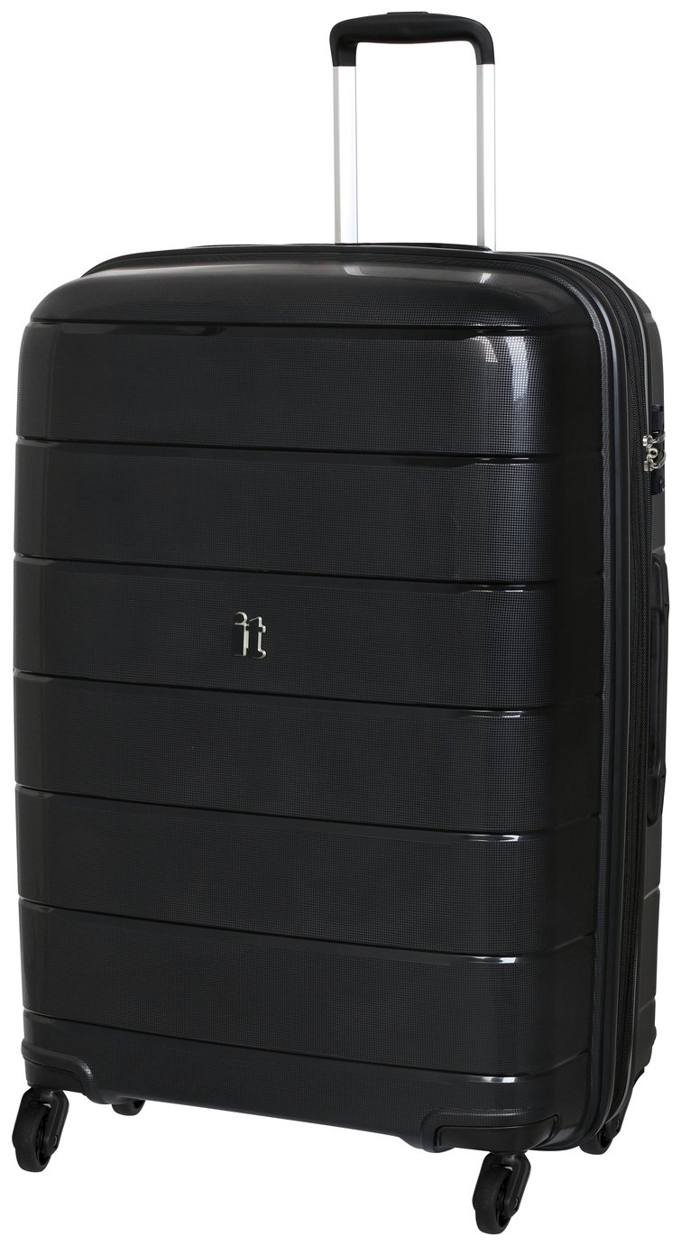 it Luggage Asteroid Large Expandable 4 Wheel Hard Suitcase