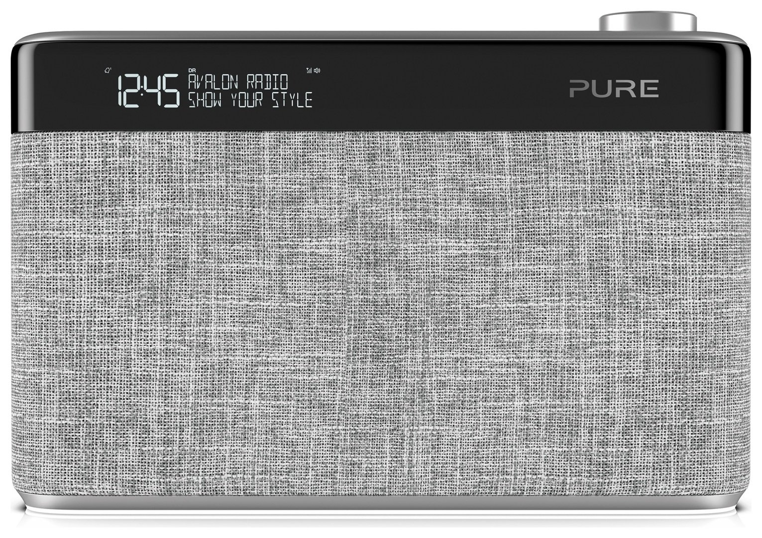 Pure Avalon N5 Portable Radio Pearl - Grey