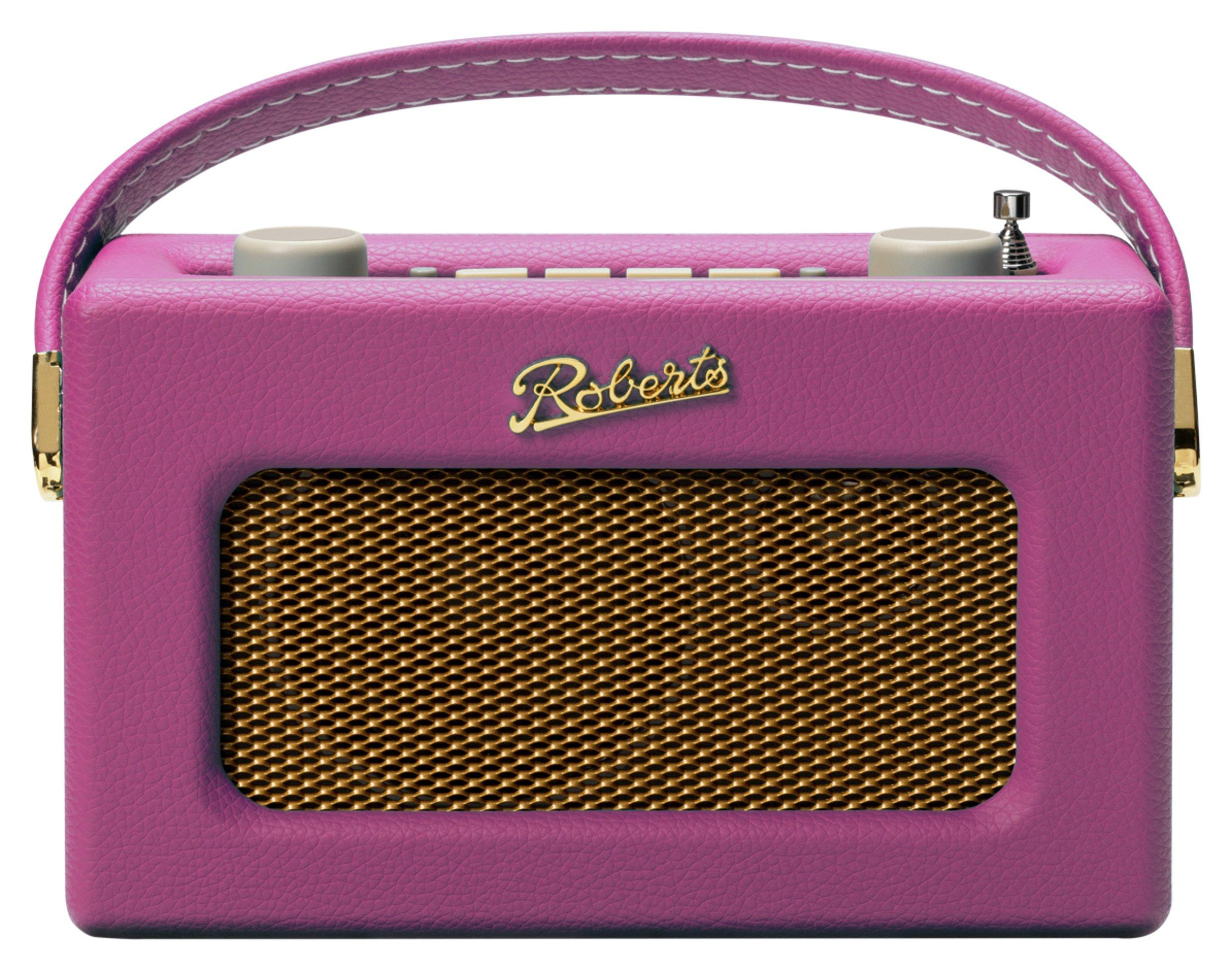 Roberts Revival Uno DAB / DAB+ / FM Digital Radio - Pink