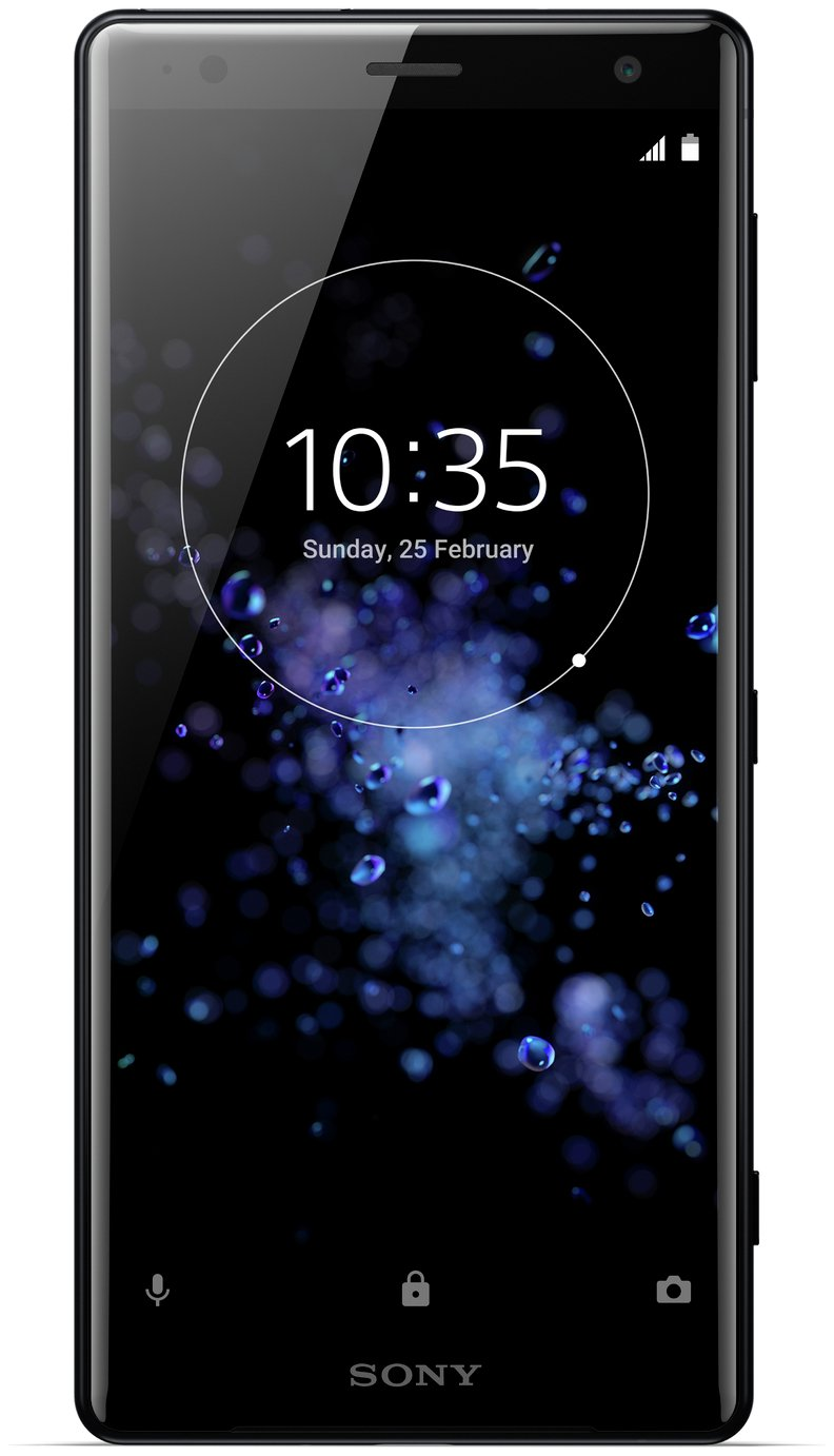 Search and compare best prices of Sim Free Sony Xperia XZ2 Mobile Phone - Liquid Black in UK