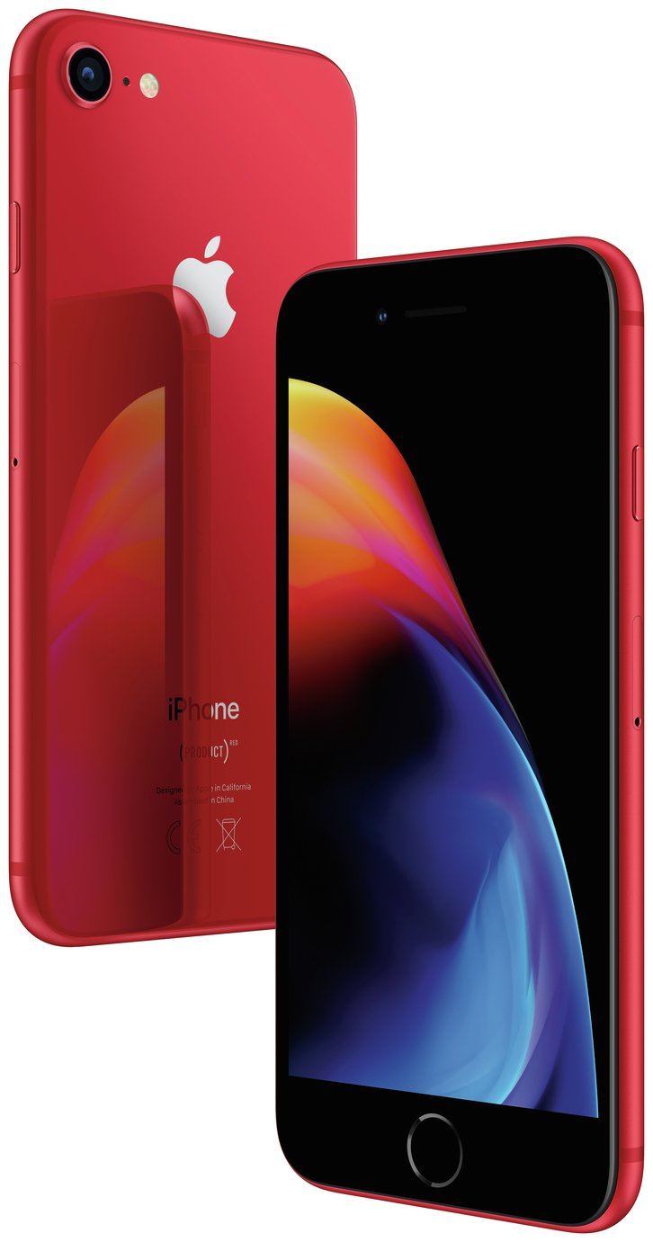 SIM Free iPhone 8 64GB Special Edition Mobile Phone - Red