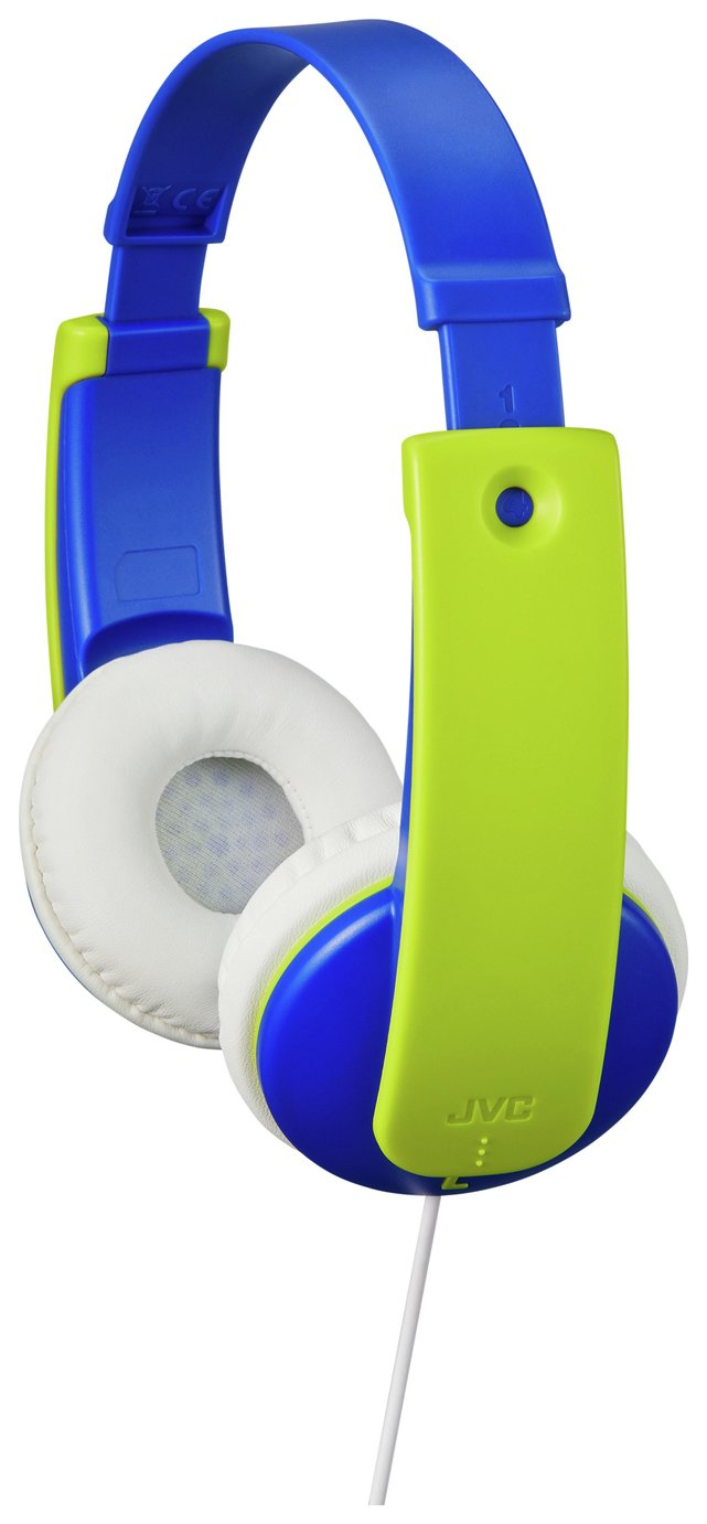 JVC Volume Limited Kids Headphones - Blue / Green
