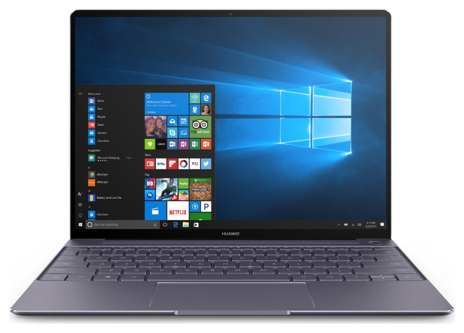 Huawei MateBook X 13 Inch i5 8GB 256GB Laptop - Space Grey