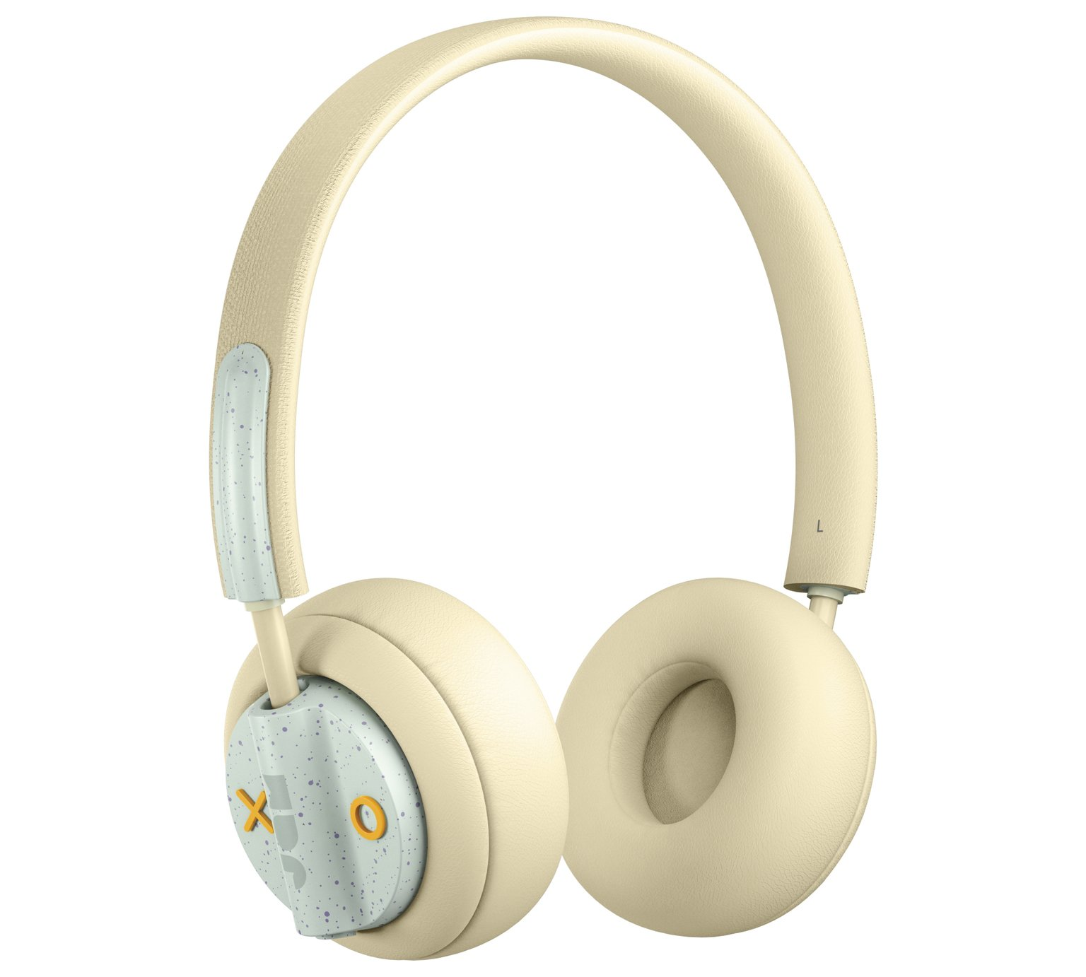 JAM Out There Over - Ear Wireless Headphones - Cream Soda