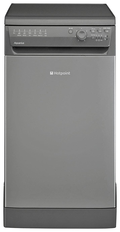 Hotpoint SIAL11010G Slimline Dishwasher - Graphite