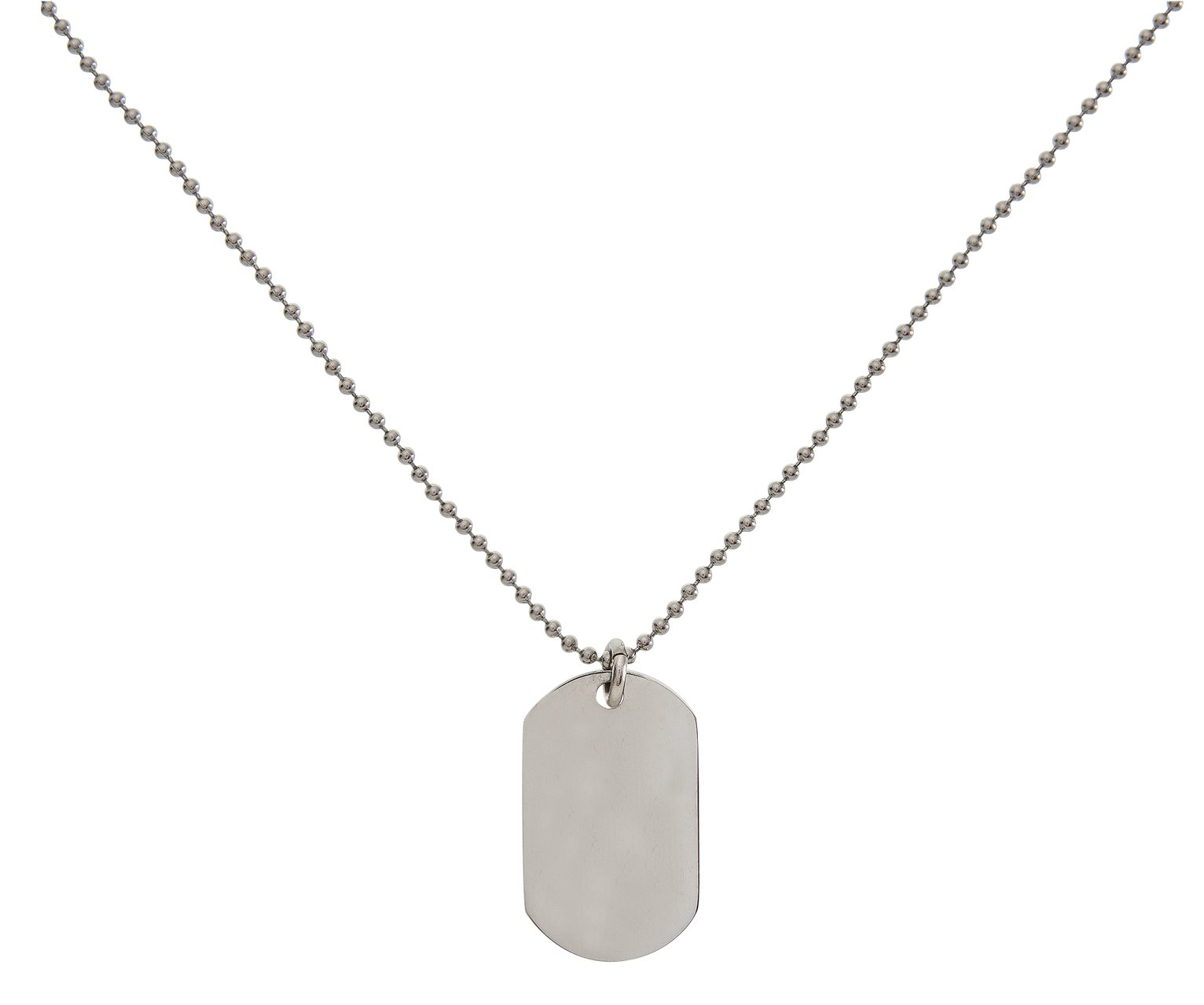 Revere Kid's Stainless Steel Dog Tag Pendant