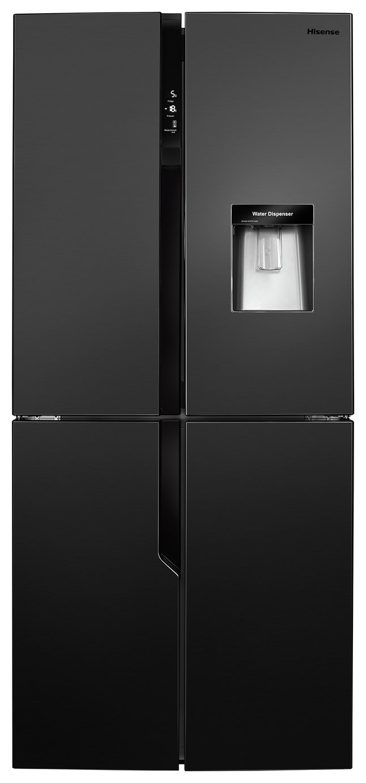 Hisense RQ560N4WB1 American Fridge Freezer - Black