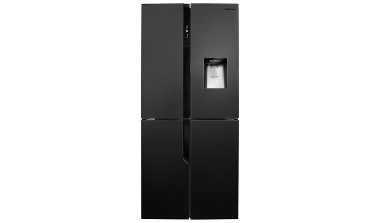 Buy Hisense RQ560N4WB1 American Fridge Freezer - Black   Fridge freezers    Argos