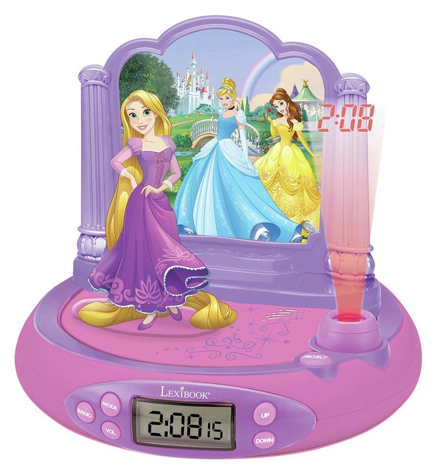 Image of Disney Princess Projector Radio Alarm Clock