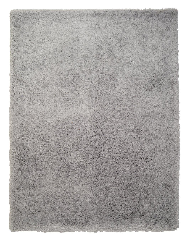 Argos Home Snuggle Shaggy Rug - 230x160cm - Dove Grey