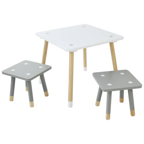 Argos Childrens Table And Chairs White