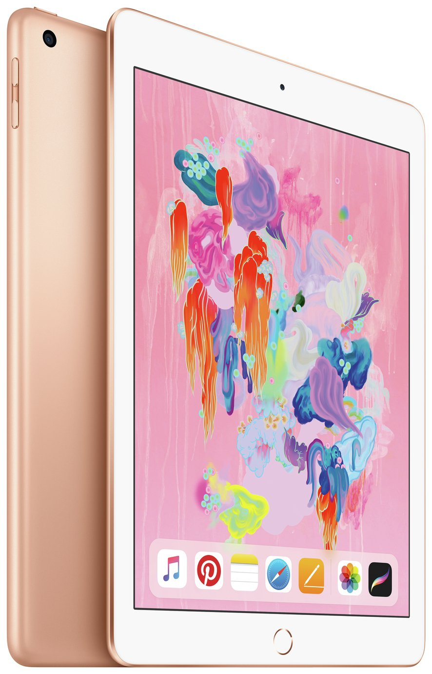 iPad 2018 6th Gen 9.7 Inch Wi-Fi Cellular SIM 32GB – Gold