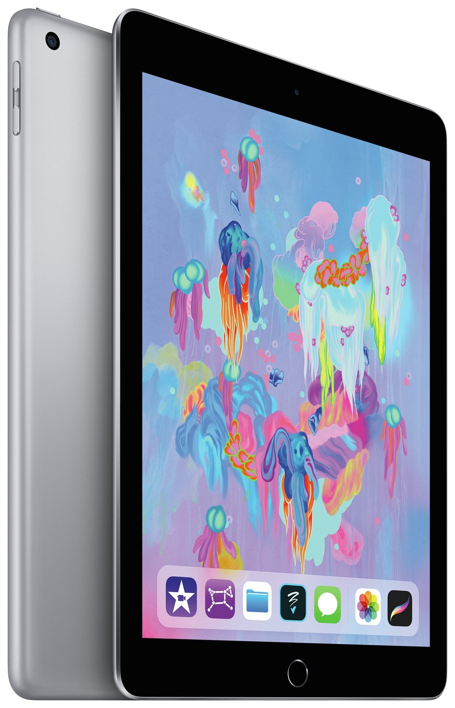 iPad 2018 6th Gen 9.7 In Wi-Fi Cellular SIM 128GB–Space Grey