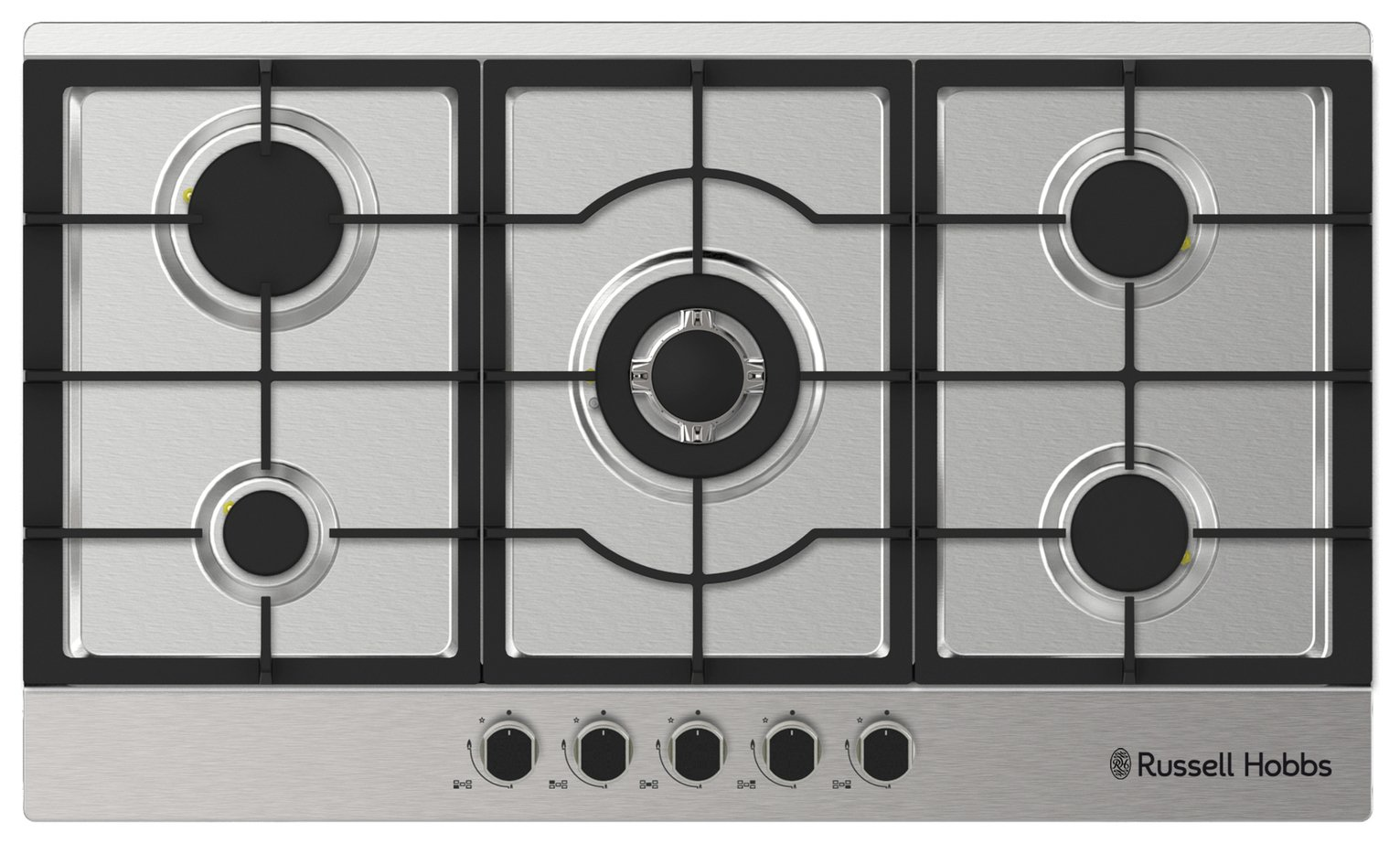Russell Hobbs RH86GH702SS Gas Hob - Stainless Steel