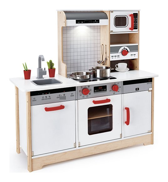 Image of Hape Delicious Memories Wood Play Kitchen