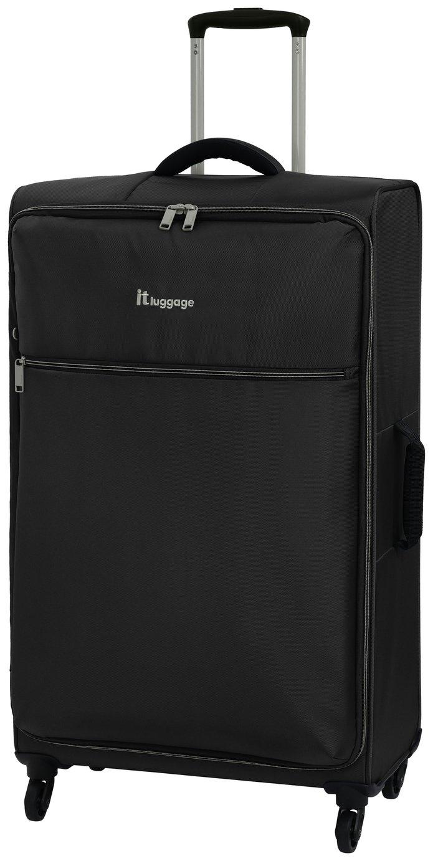 it Luggage The LITE Large 4 Wheel Soft Suitcase - Black