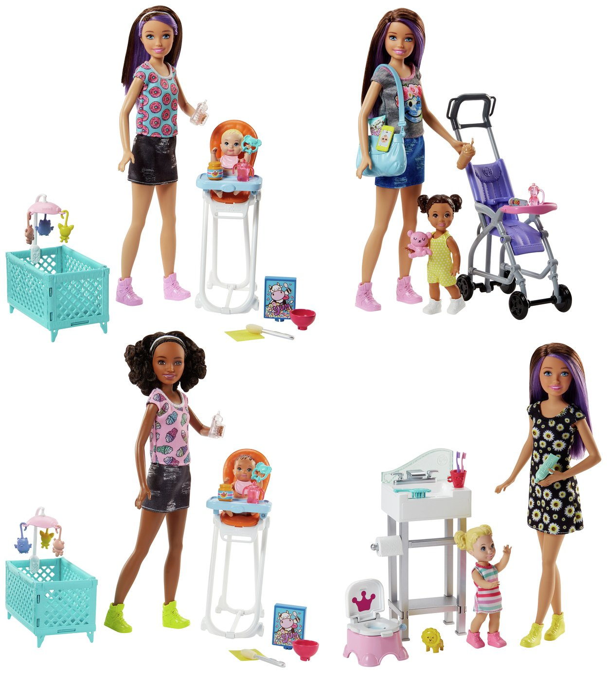 Barbie Sisters Babysitter Playset Assortment