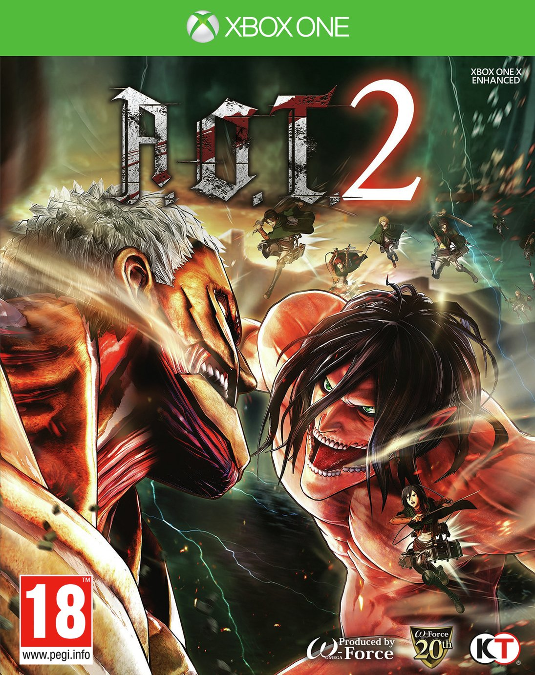 Image of Attack on Titan 2 Xbox One Game