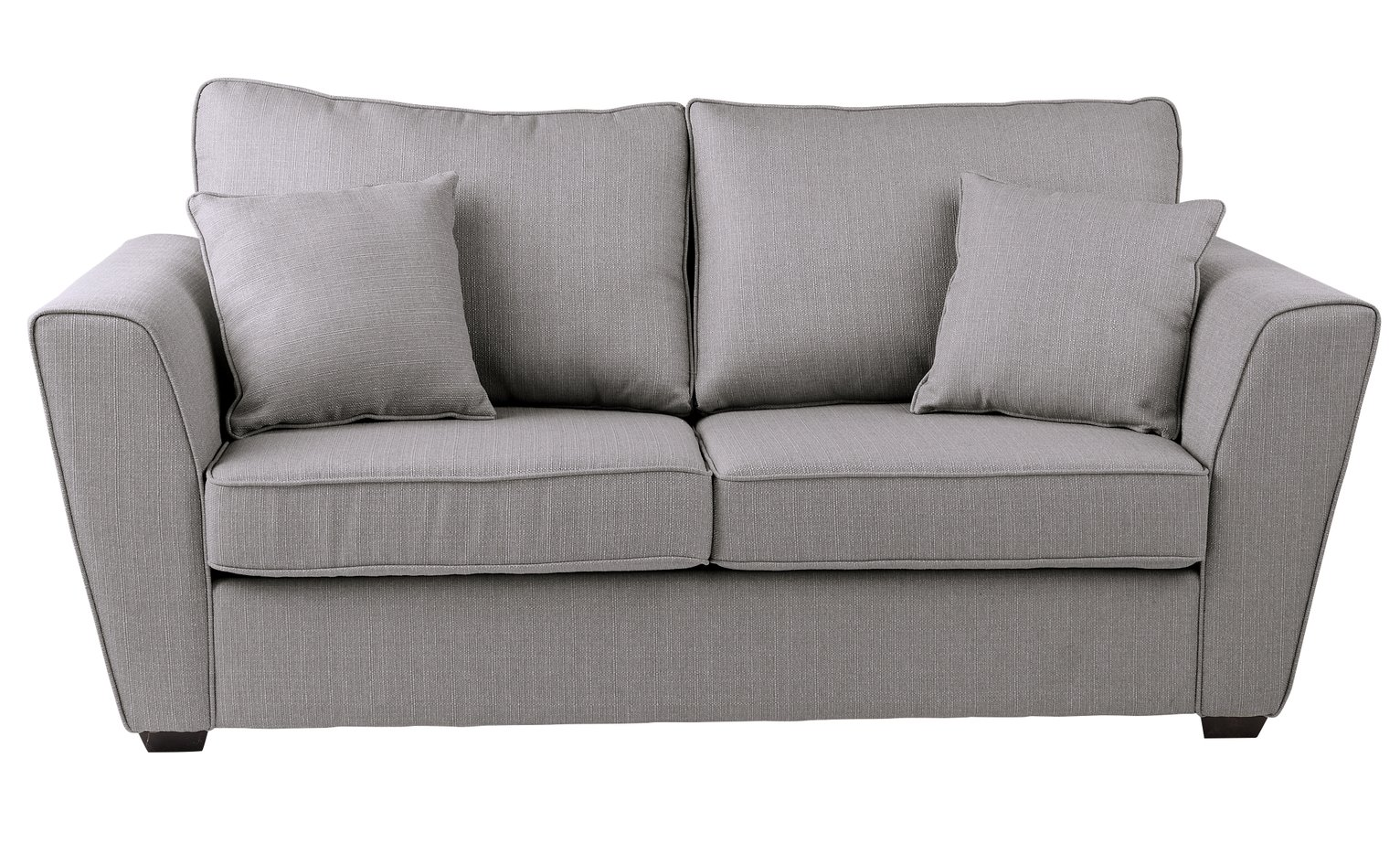 Argos Home Renley 2 Seater Fabric Sofa Bed - Light Grey