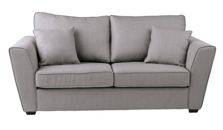 Awesome Buy Argos Home Renley 2 Seater Fabric Sofa Bed Light Grey Sofa Beds Argos Home Remodeling Inspirations Gresiscottssportslandcom