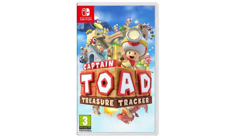 Captain Toad: Treasure Tracker Nintendo Switch Game
