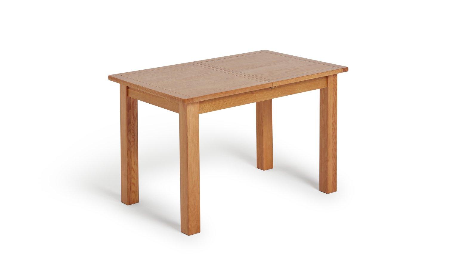 Argos Home Ashwell Oak Veneer Extending 4 - 6 Seater Table