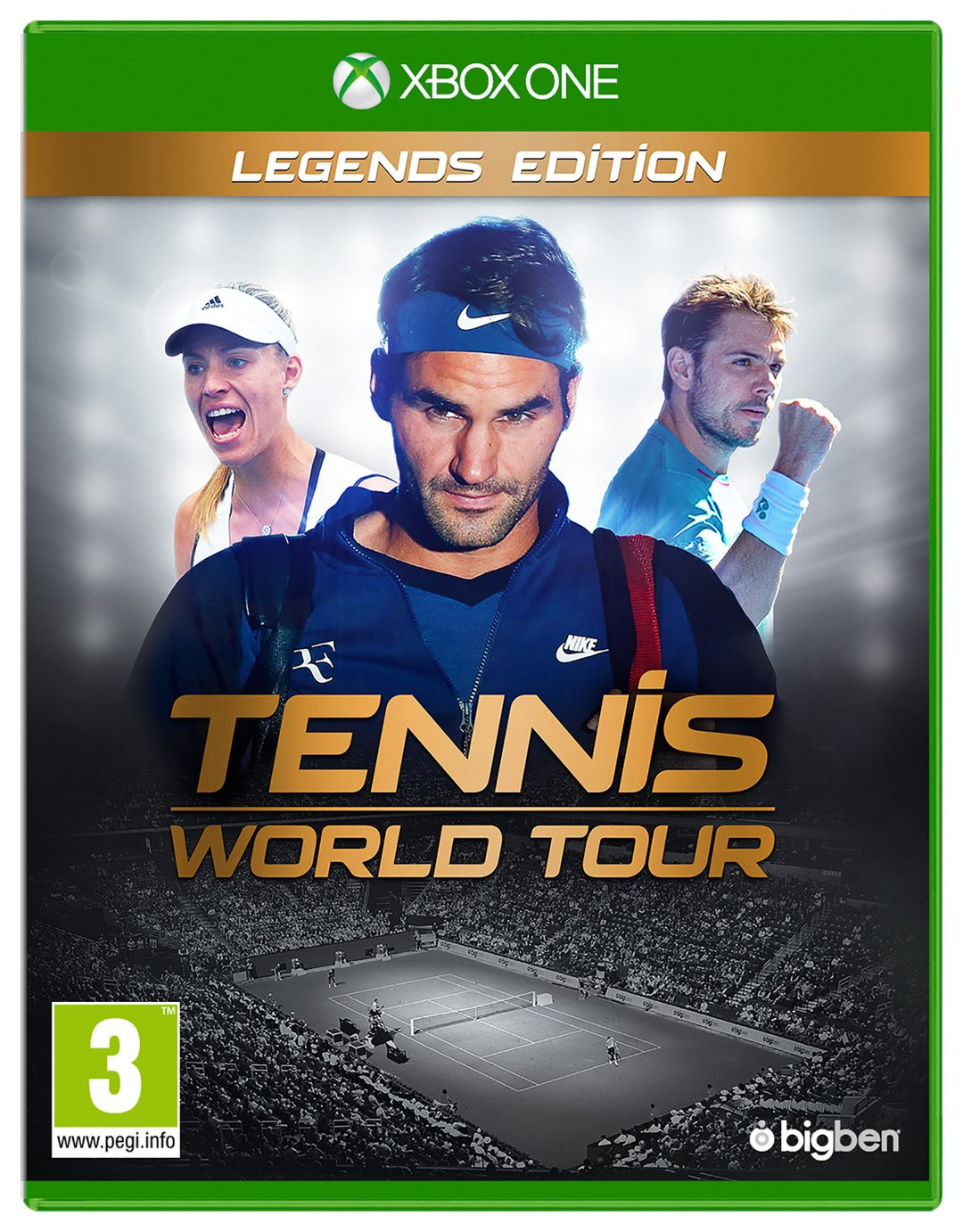 Tennis World Tour Legendary Edition Xbox One Game
