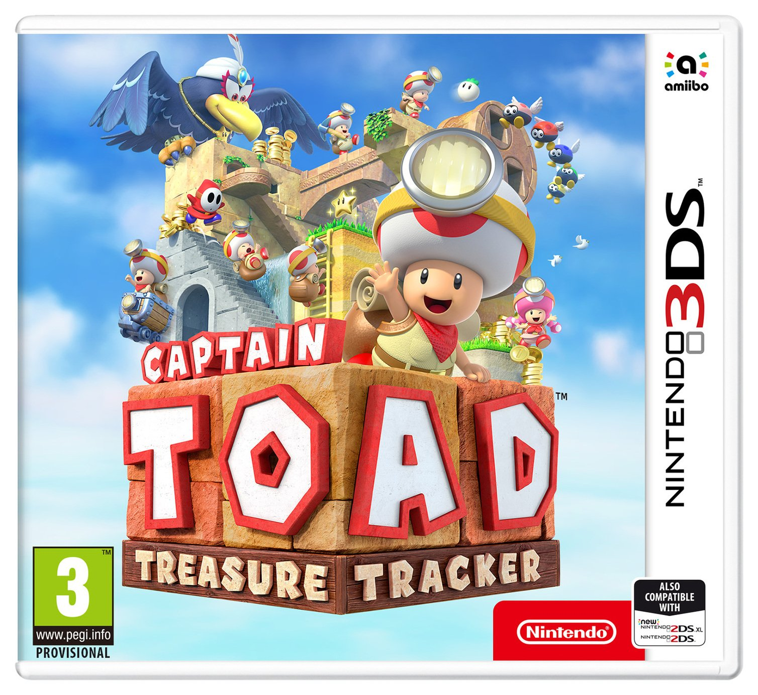 Image of Captain Toad Treasure Tracker Nintendo 3DS Game