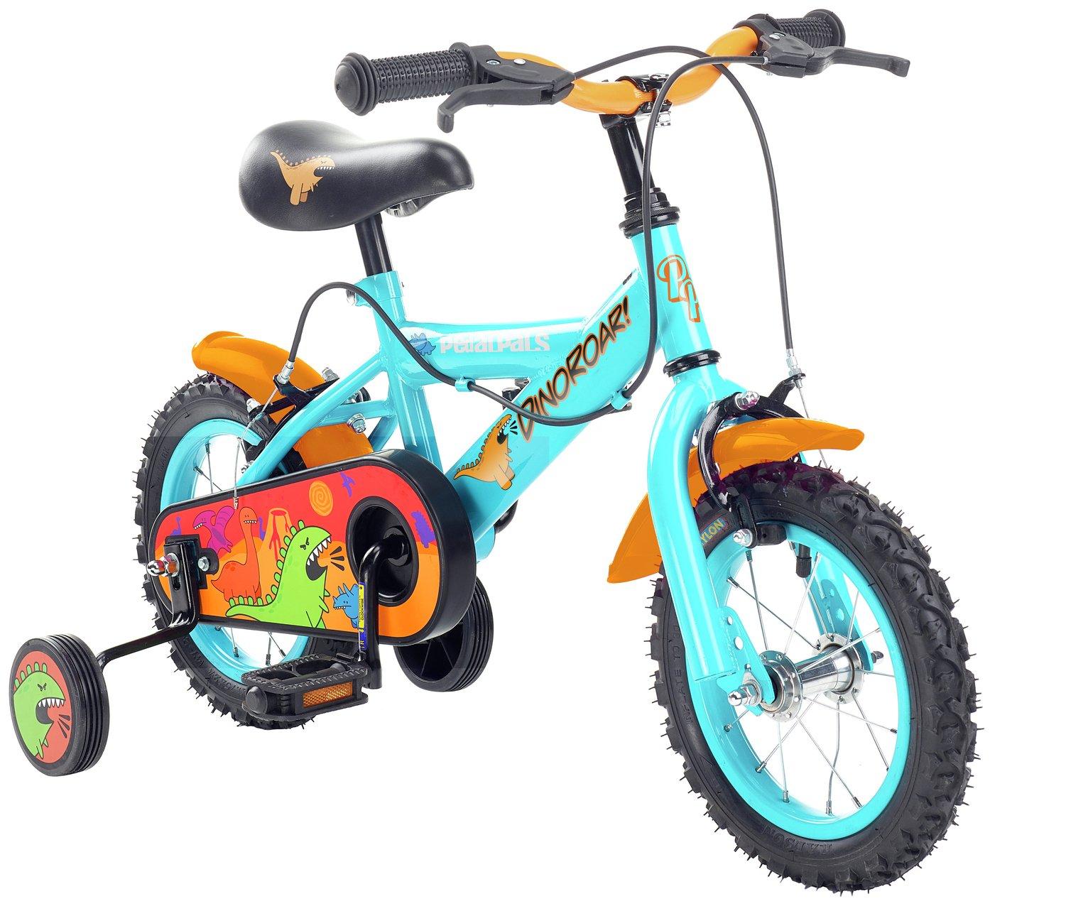Pedal Pals 12 Inch Dinosaur Kids Bike