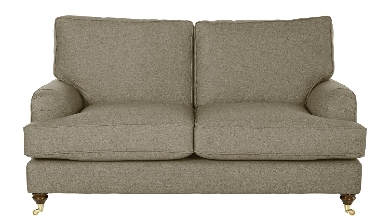 Image of Heart of House Abberton 2 Seater Sofa - Natural Tweed
