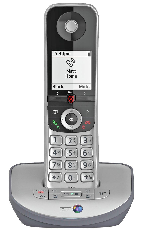 BT Advanced Z Cordless Telephone & Answer Machine - Single