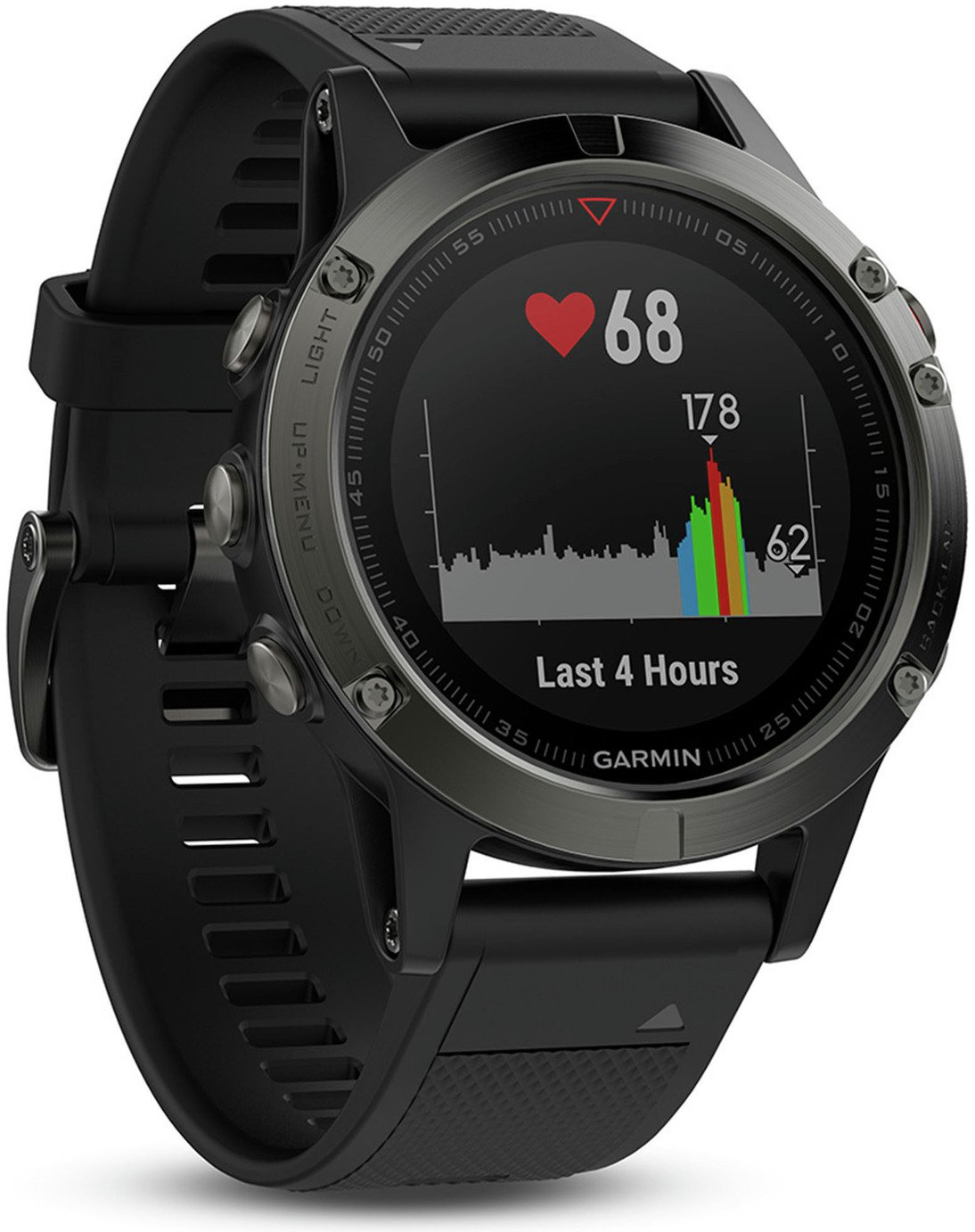 Garmin Fenix 5 Multisport GPS Smart Watch - Grey