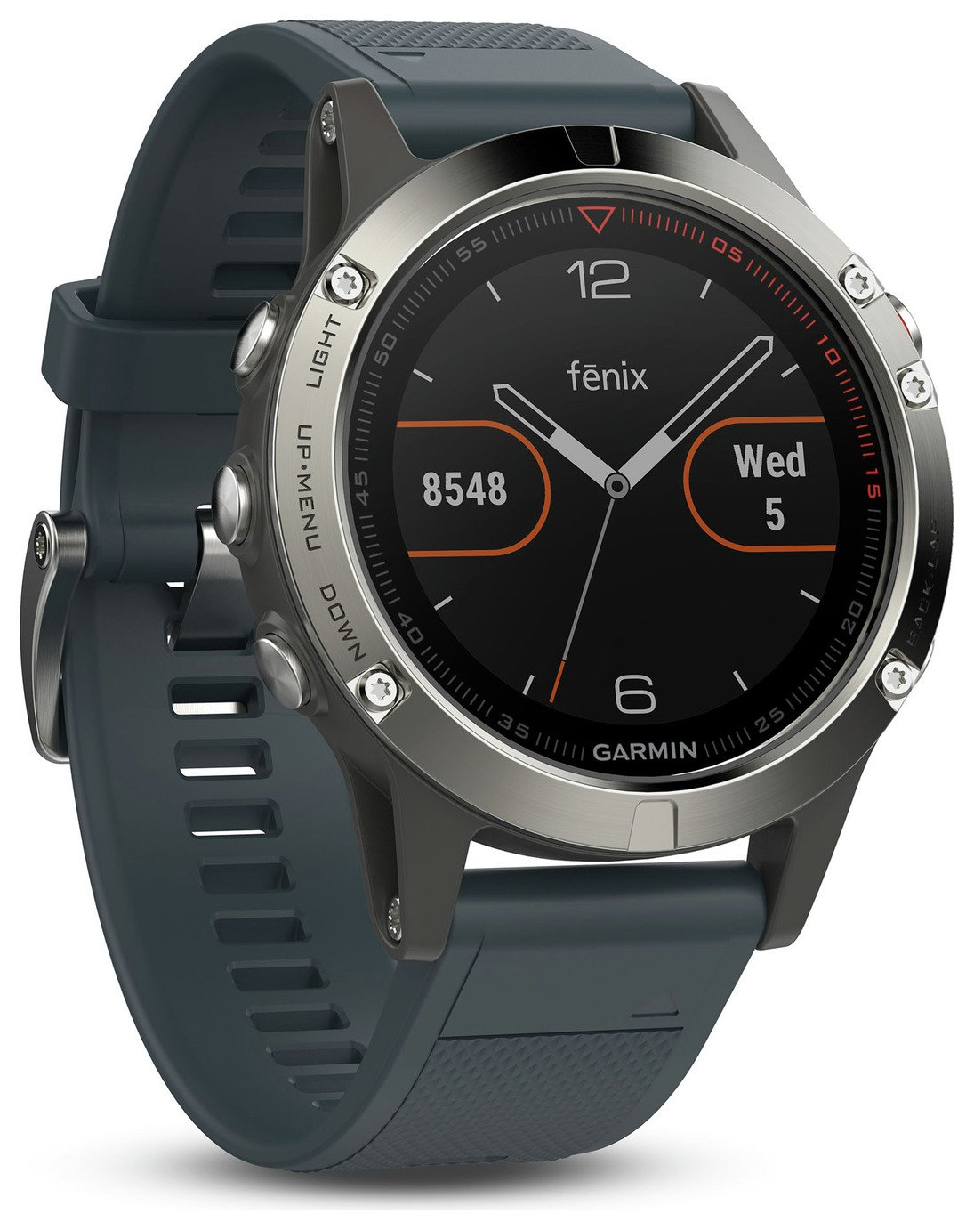 Garmin Fenix 5 Multisport GPS Smart Watch - Blue