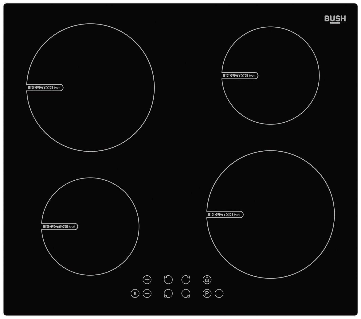 Bush BSINDHB Electric Induction Hob - Black