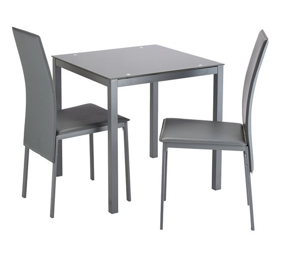 78ffbaaf36a0 Spend your epoints on Argos Home Lido Glass Extendable Table   6 ...