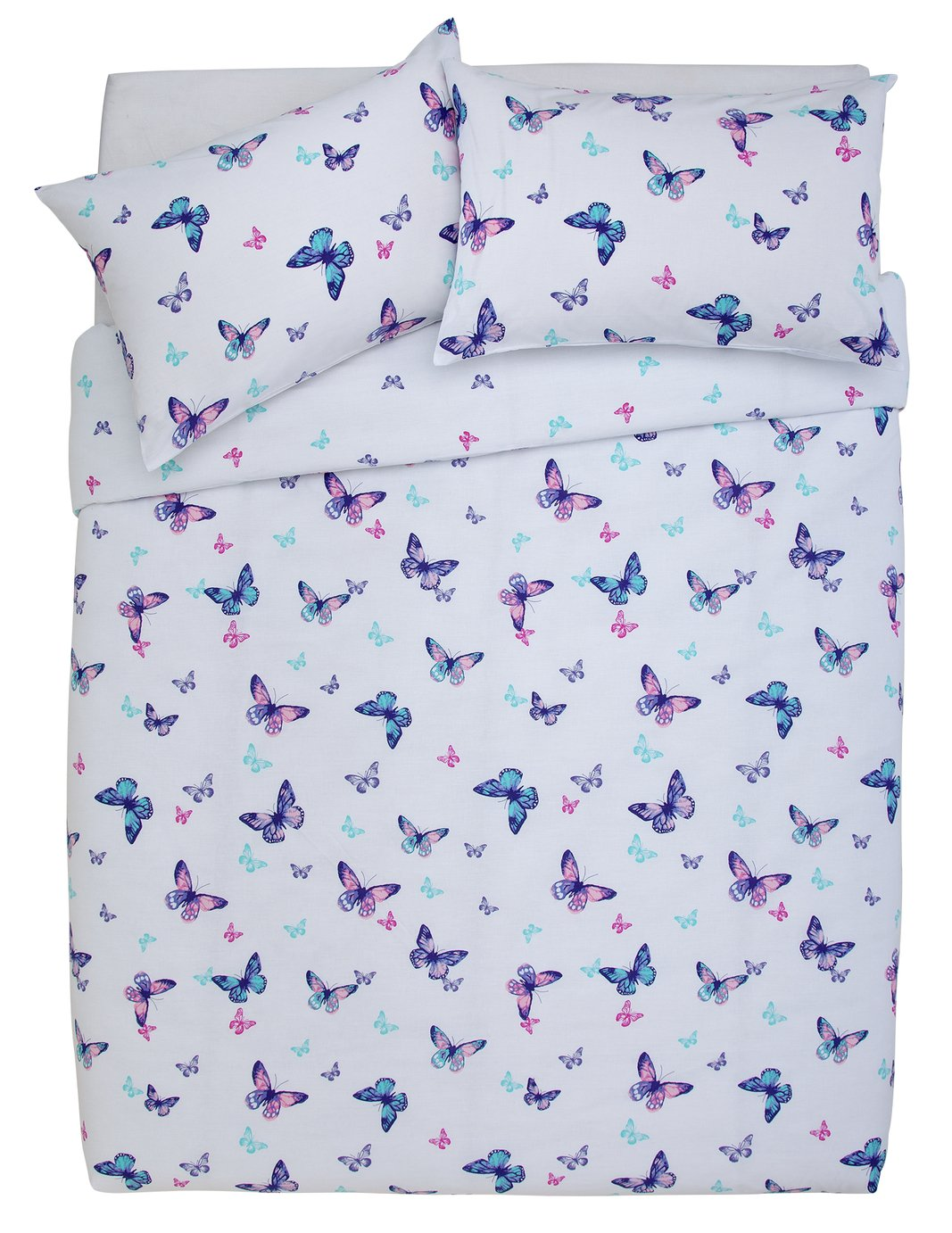 Argos Home Butterfly Bedding Set - Double