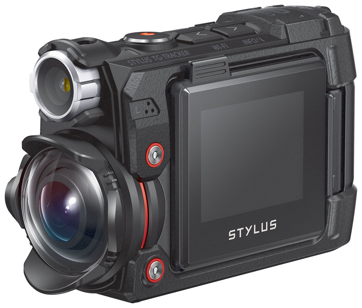 Olympus TG-Tracker 8MP Tough Camera - Black