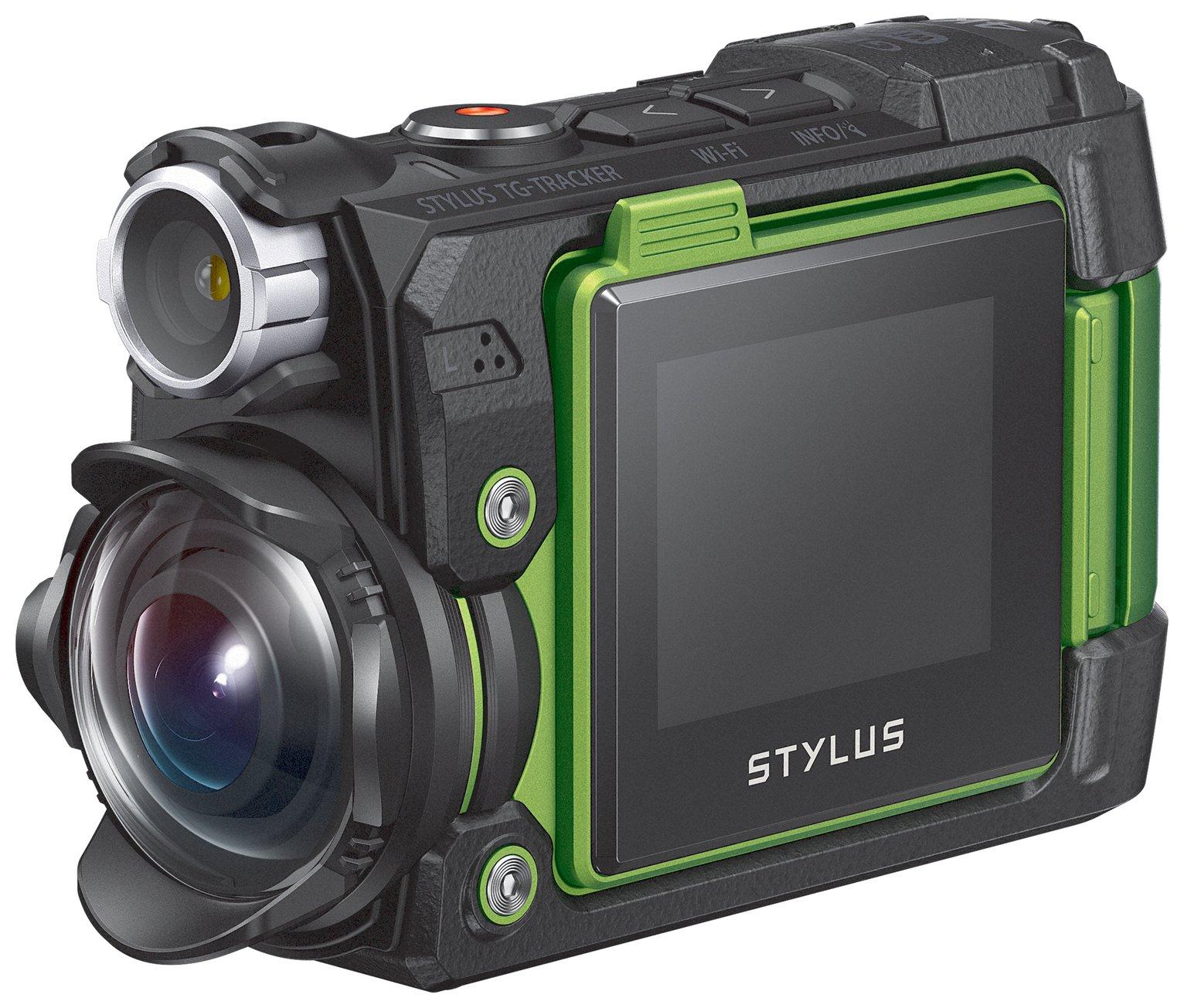 Olympus TG-Tracker 8MP Tough Camera - Green